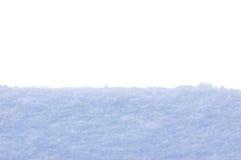 Priorità bassa isolata primo piano di struttura della neve Immagine Stock