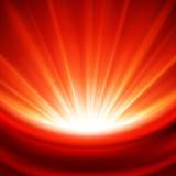 Priorità bassa luminosa della luce rossa Immagini Stock Libere da Diritti