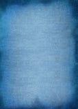 Priorità bassa materiale approssimativa blu Fotografie Stock Libere da Diritti