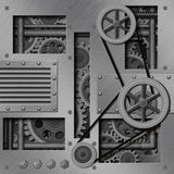 Priorità bassa meccanica Immagini Stock Libere da Diritti
