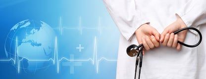 Priorità bassa medica Immagine Stock
