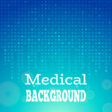 Priorità bassa medica blu Fotografia Stock Libera da Diritti