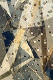 Priorità bassa metallica astratta Fotografia Stock