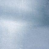 Priorità bassa metallica d'argento spazzolata Fotografia Stock
