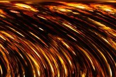 Priorità bassa metallica di Firey Fotografie Stock Libere da Diritti