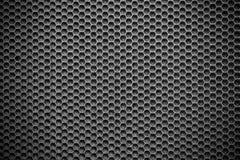 Priorità bassa metallica scura di struttura Fotografia Stock