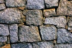 Priorità bassa moderna della parete di pietra Fotografie Stock