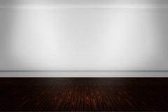 Priorità bassa moderna della stanza bianca Fotografia Stock Libera da Diritti
