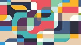 Priorità bassa moderna Forme geometriche irregolari, colore multiplo Vector l'illustrazione per fondo, la carta da parati, web Fotografie Stock Libere da Diritti