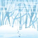 Priorità bassa molle di inverno Immagine Stock Libera da Diritti