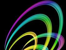 Priorità bassa multicolore astratta Immagine Stock