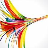 Priorità bassa multicolore. Elementi per il disegno. Immagini Stock