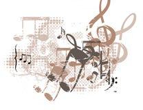 Priorità bassa musicale Immagini Stock Libere da Diritti