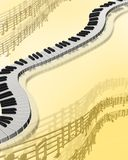 Priorità bassa musicale Immagine Stock Libera da Diritti