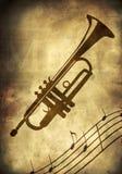 Priorità bassa musicale astratta illustrazione di stock