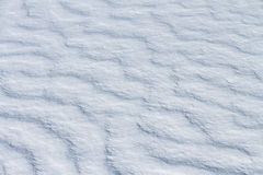 Priorità bassa naturale della neve Immagine Stock Libera da Diritti
