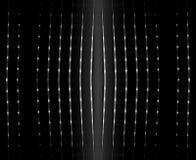 Priorità bassa nera astratta con piccolo indicatore luminoso Fotografie Stock