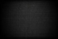 Priorità bassa nera con carbonio graffiato Fotografia Stock Libera da Diritti