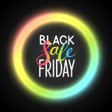 Priorità bassa nera di venerdì royalty illustrazione gratis