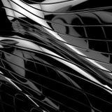 Priorità bassa nera lucida astratta illustrazione vettoriale