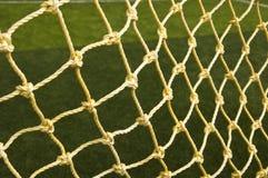 Priorità bassa netta di calcio Immagini Stock
