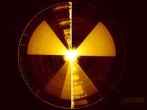 Priorità bassa nucleare Fotografia Stock Libera da Diritti