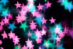 Priorità bassa operata della stella Immagine Stock Libera da Diritti