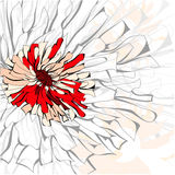 Priorità bassa originale con il fiore Fotografia Stock Libera da Diritti