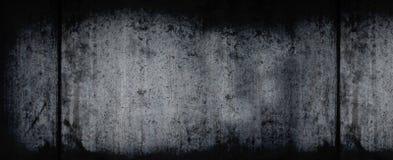 Priorità bassa orizzontale scura di Grunge immagine stock