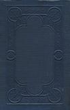 Priorità bassa ornamentale del coperchio del libro antico fotografie stock libere da diritti