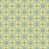 Priorità bassa ornamentale, verde blu Immagini Stock
