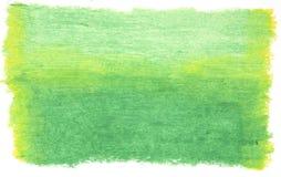 Priorità bassa paimted verde Fotografia Stock Libera da Diritti