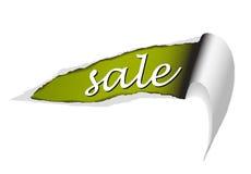 Priorità bassa per gli elementi nella vendita Fotografie Stock Libere da Diritti