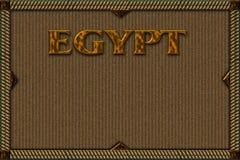 Priorità bassa per l'Egitto Immagini Stock