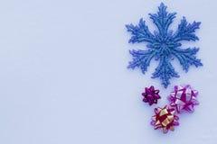 Priorità bassa per le cartoline di Natale Immagini Stock