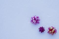 Priorità bassa per le cartoline di Natale Fotografia Stock Libera da Diritti