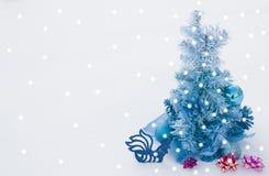 Priorità bassa per le cartoline di Natale Fotografie Stock Libere da Diritti