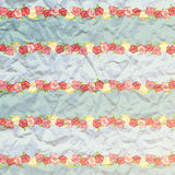 Priorità bassa per una scheda dell'invito o una congratulazione Coperchio dell'album struttura di carta dei fiori Immagine Stock