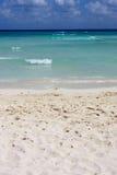 Priorità bassa perfetta della spiaggia Immagini Stock