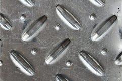 Priorità bassa perforata del metallo Fotografie Stock