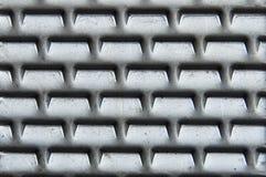 Priorità bassa perforata del metallo Fotografia Stock