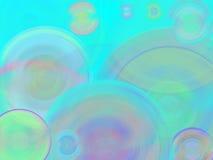Priorità bassa piena di bolle Fotografia Stock