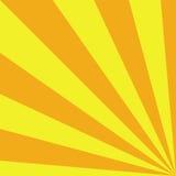 Priorità bassa piena di sole Colore giallo Illustrazione di vettore Immagini Stock Libere da Diritti
