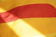 Priorità bassa piena di sole della tessile Fotografie Stock Libere da Diritti