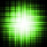 Priorità bassa psichedelica verde dell'occhio Fotografia Stock