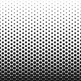 Priorità bassa punteggiata estratto Effetto di semitono Struttura di vettore Priorità bassa moderna Modello geometrico monocromat Immagini Stock