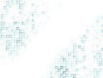 Priorità bassa - quadrati 2 dell'azzurro Immagini Stock Libere da Diritti