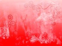 Priorità bassa rossa Fotografia Stock
