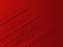 Priorità bassa rossa alta tecnologia astratta Immagini Stock