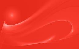 Priorità bassa rossa astratta Fotografia Stock